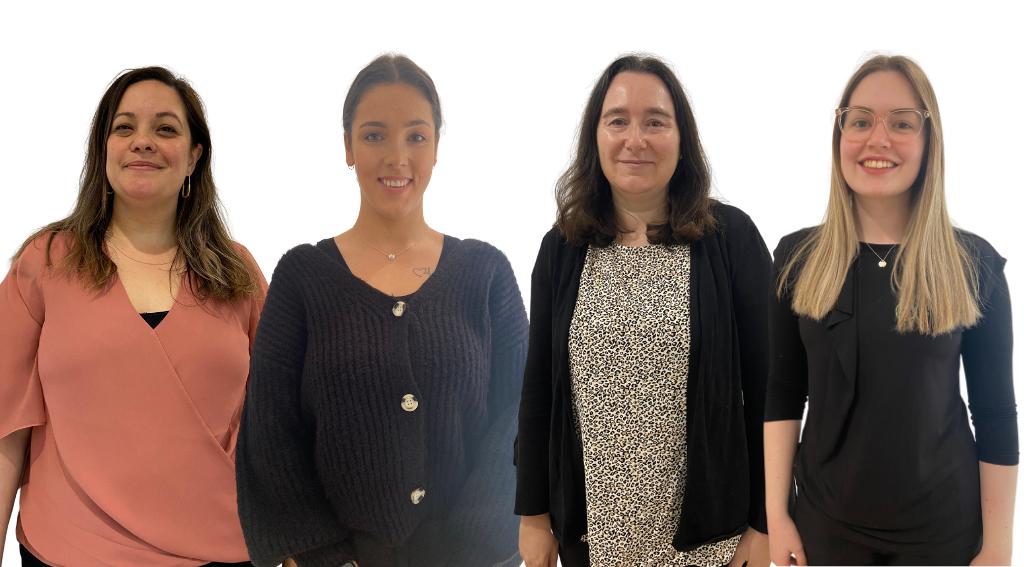 Jo, Micaela, Jessie, Meg - admin team